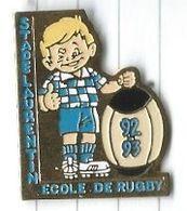 Rugby : Stade Laurentin Ecole De Rugby 92-93 - Saint Laurent Du Var 06 - Rugby