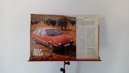 Coupure De Presse De 1989 Seat Ibiza - Voitures