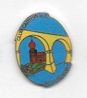 Pin's  Ville,Collection, LA  POSTE, CLUB  CARTOPHILE  REMIREMONT  ( 88 ) - Postes