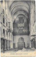 LOURDES (65) Intérieur église Paroissiale Les Orgues - Lourdes