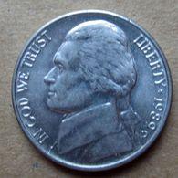 1989 D - STATI UNITI  USA Five Cent - Jefferson - Circolata - Federal Issues