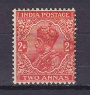 British India 1932 Mi. 132     2 A King König George V. MH* (2 Scans) - India (...-1947)