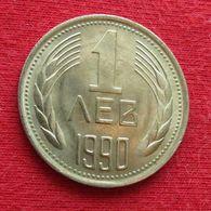 Bulgaria 1 Lev 1990 Bulgarie Bulgarije Bulgarien - Bulgarien