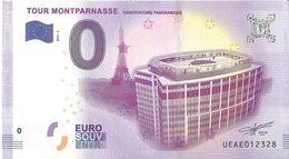 BS-52 - PARIS - Tour Montparnasse (Observatoire Panoramique) 2018-3 - EURO