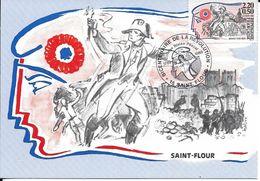 Carte Souvenir Bicentenaire De La Révolution , Saint  Flour (15) - Autres