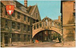 HERTFORD BRIDGE, OXFORD - Small Format - Formato Piccolo - Petit Format - Kleinformat - Oxford