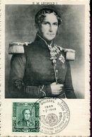 55553 Belgium, Maximum  1949  The King Leopold I. Le Roi Leopold, - 1934-1951