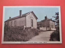 LOUROUX De BEAUNE_Ecole - Mairie _ TBE - France