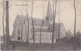 Berlare - Deelgemeente Uitbergen - Kerk (gelopen Kaart Met Zegel) - Berlare