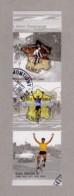 Timbres YT P3582 Oblitérés 2003 (3582+3583) Paire Verticale - Centenaire Du Tour De France - France