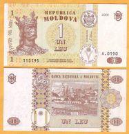 """2006 Moldova ; Moldavie ; Moldau  """"1 LEI  2006""""  UNC - Moldavie"""