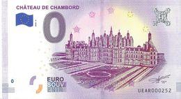 BS-56 - CHAMBORD - Le Château De Chambord (Vue Aérienne 2) 2018-3 - EURO