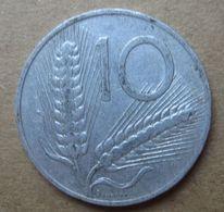 1968 R - ITALIA 10 Lire Spighe - Circolata - 10 Lire