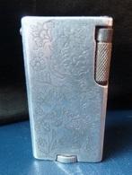 Briquet à Essence - Gravé 11-6-1949  - K.M   Made In England ( Jolie Gravure ) - Sonstige
