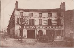 Ca - Très Rare Cpa CHALON Sur SAONE - Construction De Voitures Billot & Landré - Place Ronde - Chalon Sur Saone