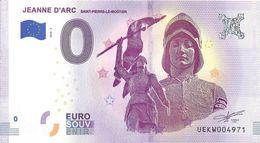 BS-58 - SAINT-PIERRE-LE-MOÛTIER - Jeanne D'Arc 2018-1 - EURO