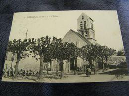 C.P.A.- Verneuil (78) - L'Eglise - 1927 - SUP - (DG 88) - Verneuil Sur Seine
