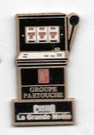 Pin' S  Ville, Jeux, Machine à Sous, GROUPE  PARTOUCHE, CASINO  LA  GRANDE  MOTTE  ( 34 ) - Jeux