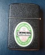 Briquet à Essence - Publicité  Bière Heineken -  REVOLT  - Made In Austria - Sonstige