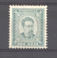 Portugal  :  Yv   57A  *  Dentelé  11 1/2 - 1862-1884 : D.Luiz I