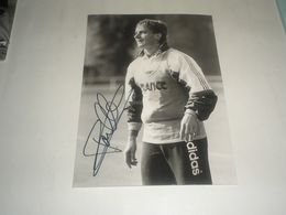 Photo FOOTBALL Signé Par  STEPHANE PAILLE , Sochaux  , International France Signature Authographe - Photography