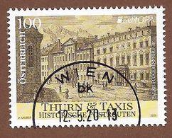 Österreich  2020  , Europa Cept Postwege - Gestempelt / Used / (o) - 1945-.... 2ème République