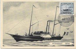 Oostende  *  Eeuwfeest - Centenaire Oostende - Dover 1946  ( Diamant 1846 ) - Stamped Stationery