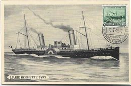 Oostende  *  Eeuwfeest - Centenaire Oostende - Dover 1946  ( Marie Henriette 1893 ) - Stamped Stationery