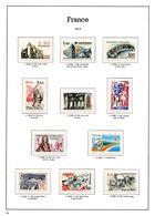 FRANCE ANNEES 1982/1983 - 11 TIMBRES NEUFS** - 50 % FACIALE APRES CONVERSION FRANCS/EUROS - France