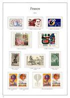 FRANCE ANNEES 1982/1983 - 12 TIMBRES NEUFS** - 50 % FACIALE APRES CONVERSION FRANCS/EUROS - France