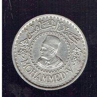 Maroc  500 Francs ARGENT 1376 1956  MOHAMMED V Empire Chérifien GRAVEUR J. HAINAUT - Marokko