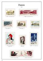 FRANCE ANNEES 1983/1984 - 10 TIMBRES NEUFS** - 50 % FACIALE APRES CONVERSION FRANCS/EUROS - France