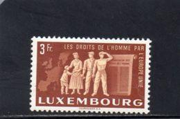 LUXEMBOURG 1951 ** - Luxemburg
