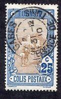 Colonie Française, Tunisie Colis Postaux N°4 Oblitéré, Cachet Exceptionnel - Autres
