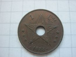 Congo Belgian , 1 Centime 1888 - Congo (Belgian) & Ruanda-Urundi