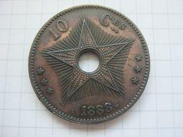 Congo Belgian , 10 Centimes 1888 - Congo (Belgian) & Ruanda-Urundi
