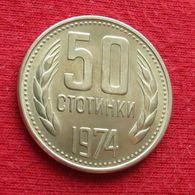 Bulgaria 50 Stotinki 1974 KM# 89 Bulgarie Bulgarije Bulgarien - Bulgarien