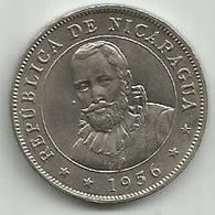 Nicaragua 50 Centavos 1956. - Nicaragua