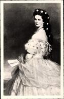 Artiste Cp Winterhalter, Franz Xaver, Kaiserin Elisabeth Von Österreich Ungarn, Sisi - Familles Royales