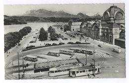 Luzern Bahnhofplatz Und Rigi - LU Lucerne