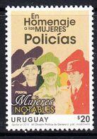 2016 Uruguay Police Complete Set Of 1 MNH - Uruguay