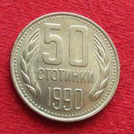 Bulgaria 50 Stotinki 1990 KM# 89 Bulgarie Bulgarije Bulgarien - Bulgarien