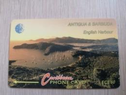 ANTIGUA & BARBUDA $ 60  ENGLISCH HARBOUR         ANT-13D  CONTROL NR: 13CATD WHITE      NEW C&W LOGO **2538** - Antigua And Barbuda