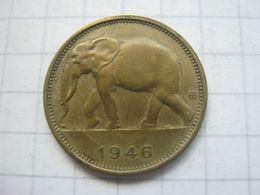 Congo Belgian , 1 Franc 1946 - Congo (Belgian) & Ruanda-Urundi