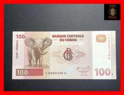 CONGO DEMOCRATIC REPUBLIC  100 Francs 1.11.1997 P. 90  UNC  LOW SERIAL - Democratic Republic Of The Congo & Zaire