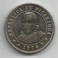Nicaragua 25 Centavos 1974. High Grade - Nicaragua