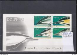 Tokelau Michel Cat.No. FDC 234/237 Dolphin - Tokelau