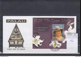 Palau Michel Cat.No. FDC 2166/2169 + Sheet 160 - Palau