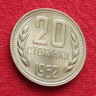 Bulgaria 20 Stotinki 1962 KM# 63  Bulgarie Bulgarije Bulgarien - Bulgarien