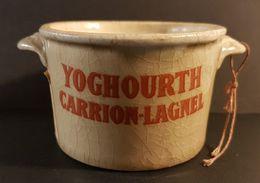 Ancien Pot De Yaourt / Yoghourt / YOGHOURTH CARRION-LAGNEL - 6 Photos - Andere Sammlungen